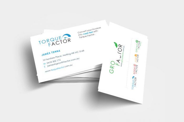 Brand and Graphic Design Agency Melbourne - Torque Factor Launch Logo