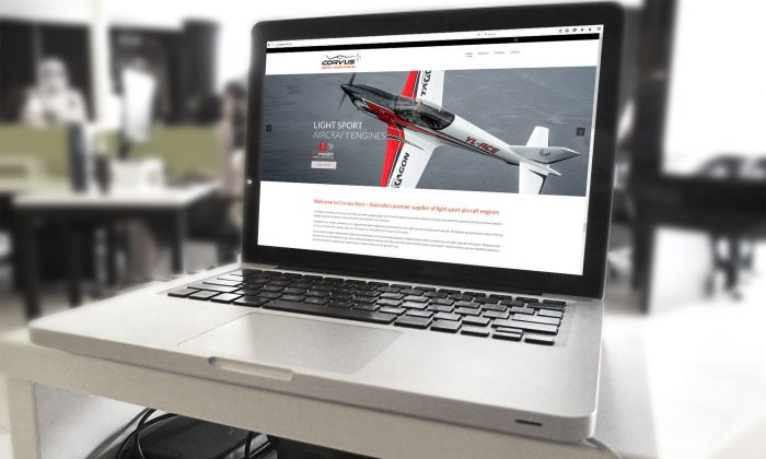 Wordpress Website Corvus Aero