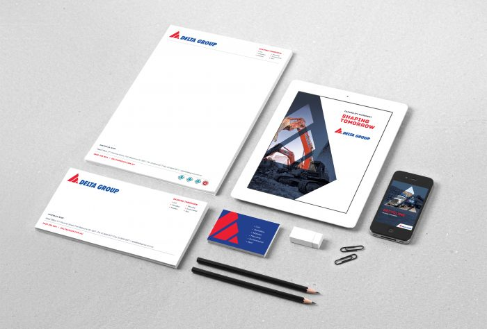 branding, graphic design, digital marketing Delta Group
