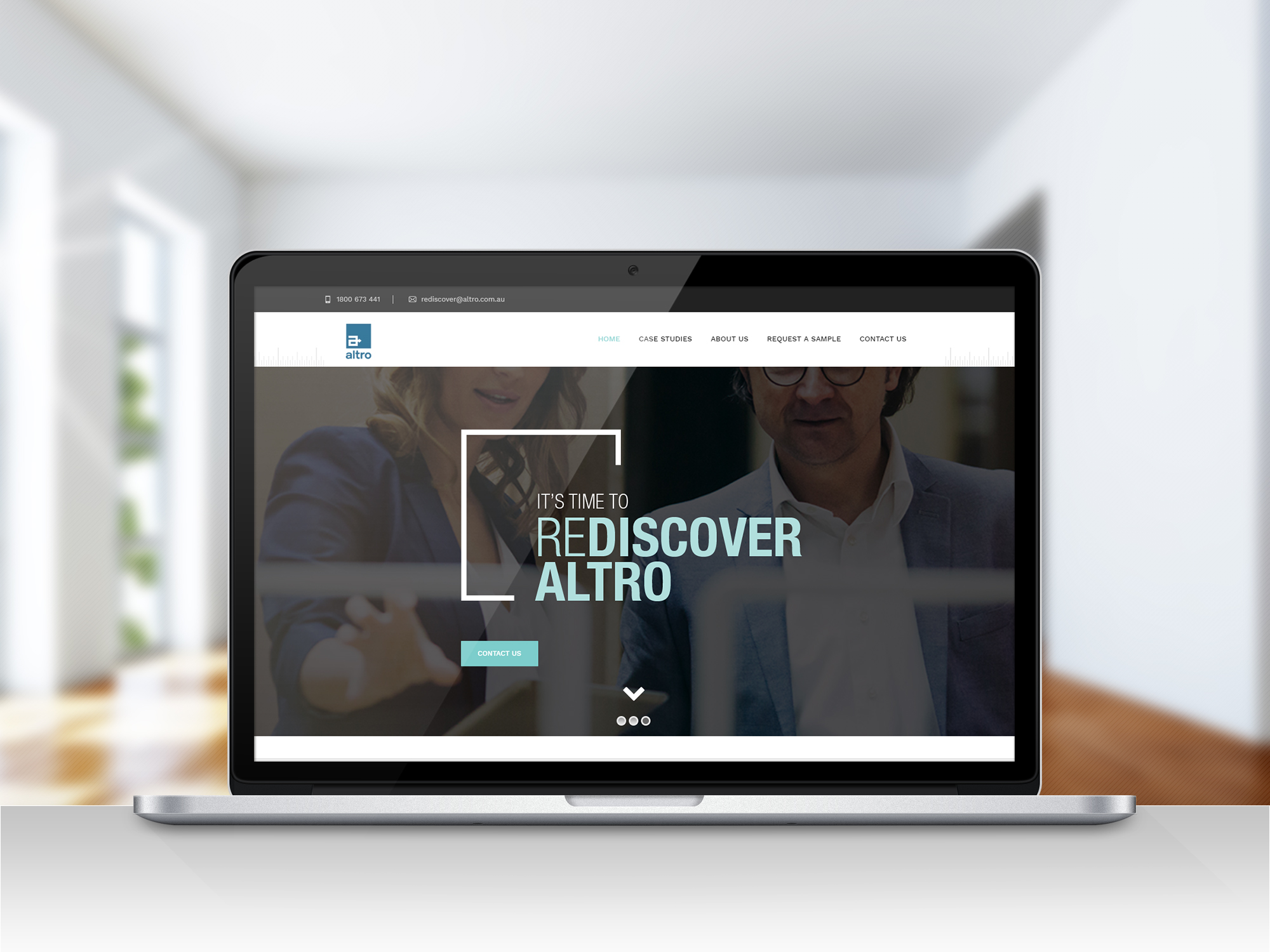 Marketing campaign new product launch website